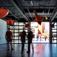 Ambiente432 installation at the Jordan Schnitzer Museum of Art at WSU