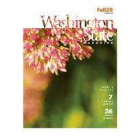 cover of Fall 2020 issue of Washington State Magazine