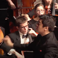 Danh Pham conducting symphony concert