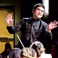 Maestro Danh Pham conducts the 48th season opening concert of the Washington Idaho Symphony