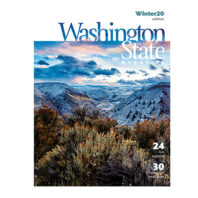 Cover of Washington State Magazine, Winter 2020 issue