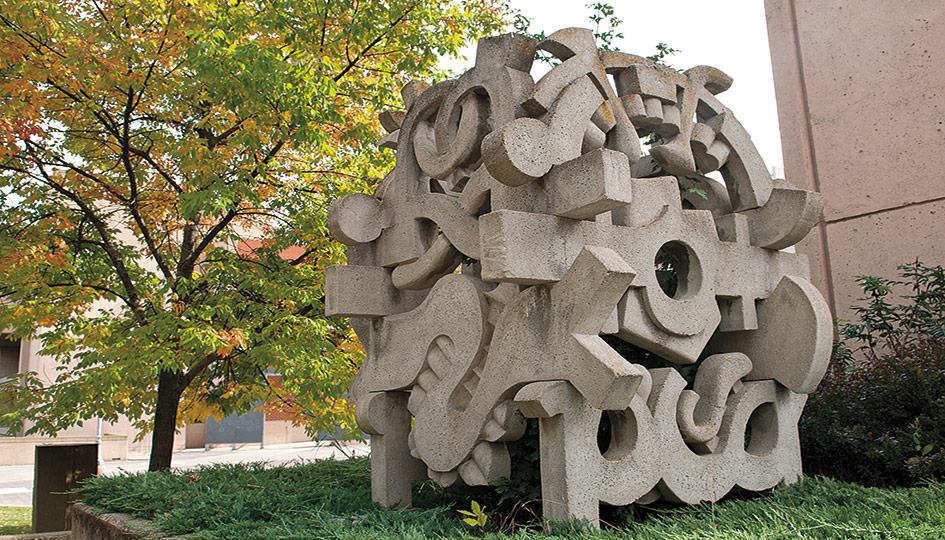 Harold Balazs Tori Lantern sculpture