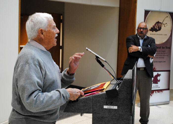 Dick Fry, former PowWow editor