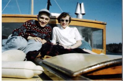 Duane and Arleen Stowe honeymoon in Victoria, B.C., 1954