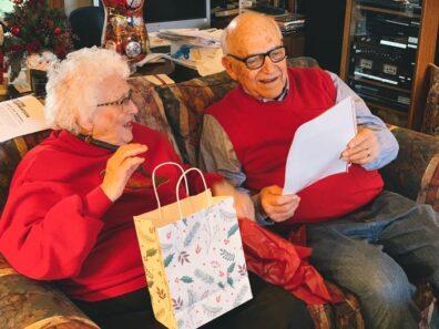 Duane and Arleen Stowe, Christmas 2019
