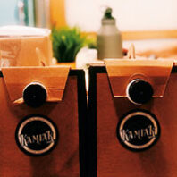 Coffee in to-go cartons from Kamiak Coffee