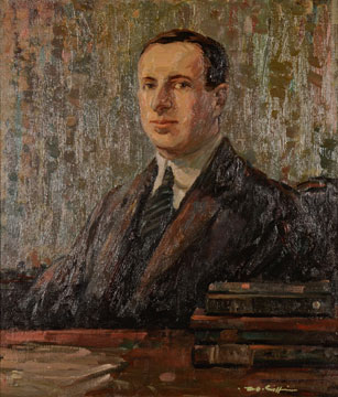 Frank Alfred Golder painting by Worth D. Griffin