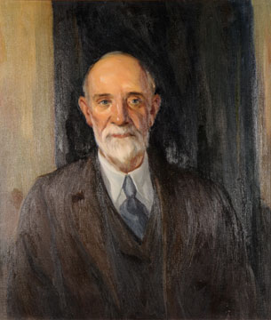 William Goodyear painting by Worth D. Griffin