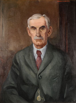 Oliver Clive Hall painting by Worth D. Griffin