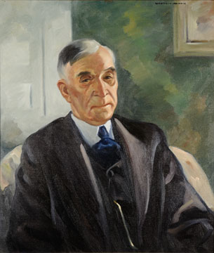 Peter MacGregor painting by Worth D. Griffin