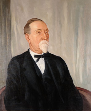 James Henry Raley painting by Worth D. Griffin