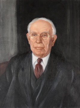 Edwin Hugh Van Patten painting by Worth D. Griffin