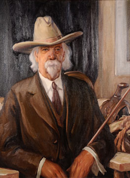 Felix Warren painting by Worth D. Griffin
