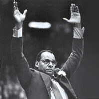 George Raveling (Chris Johns/The Seattle Times)
