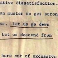 Original text of Dr. Martin Luther King Jr. I have a Dream speech