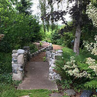 Greenbank Farm native plant garden path