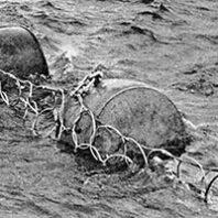 Buoys with anti-torpedo net