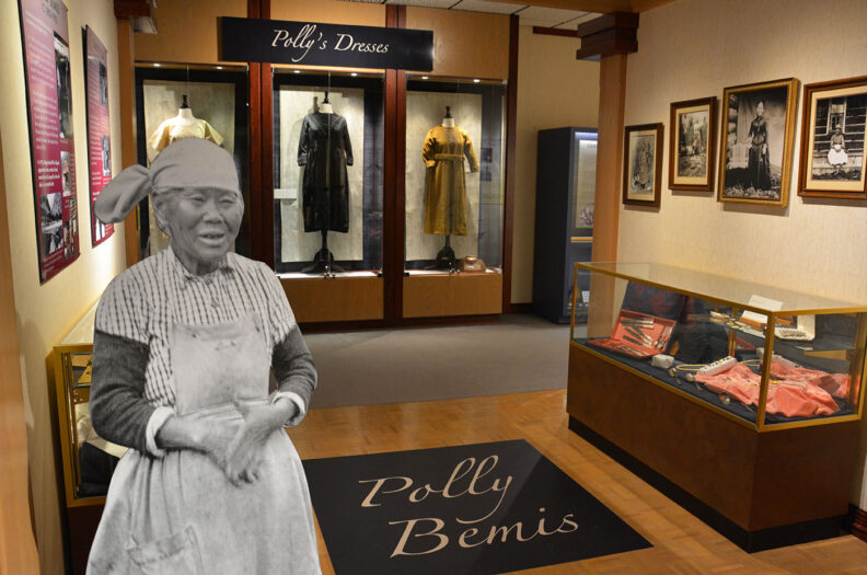 Polly Bemis exhibit in the Historical Museum at St. Gertrude, Idaho