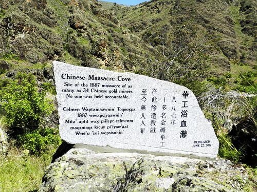 Chinese Massacre Cove Memorial in Idaho