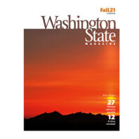 Cover of the Fall21 issue of Washington State Magazine