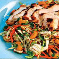 Grilled Chicken Chop Salad