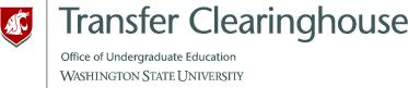 Graphic of the WSU Transfer Clearinghouse logo