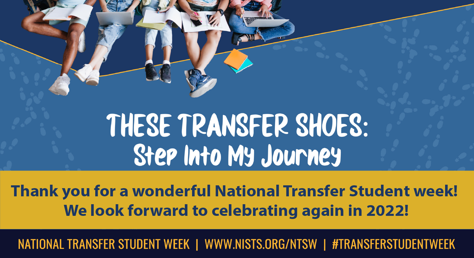 Learn about National Transfer Week events at WSU from October 18-22. This year's theme is 'These transfer Shoes: Step Into My Journey.'