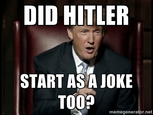 Whats the difference between bin laden and hitler?