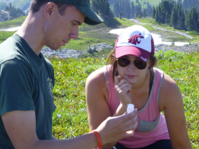 Backpack Environmental reporting - Mount Rainier